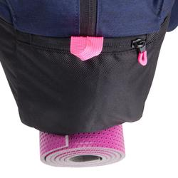 Sporttasche Fitness Cardio 30l blau/schwarz/rosa