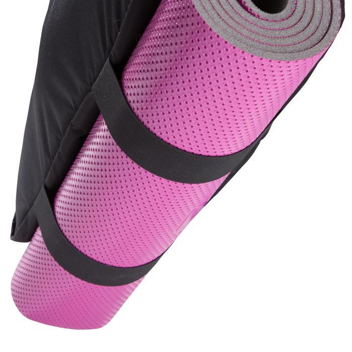 Fitnesstas cardiotraining 30 liter blauw zwart en roze