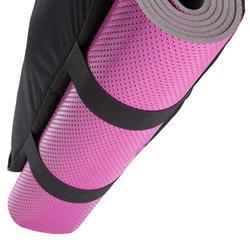 Tas fitness cardiotraining 30 liter blauw zwart en roze