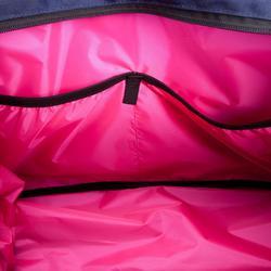 Sporttasche Premium Fitness 30l blau/schwarz/rosa