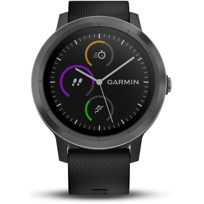 Reloj conectado Vivoactive 3 con pulsómetro muñeca y GPS negro