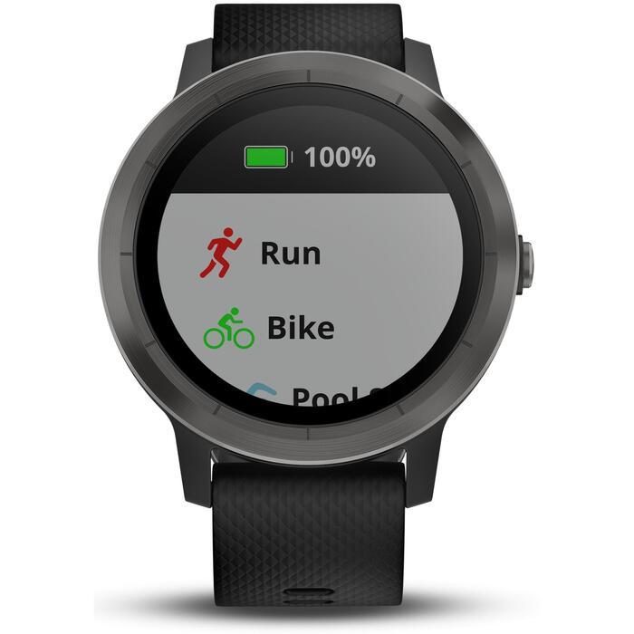 Montre connectée Vivoactive 3 avec cardio poignet et GPS noire - 1288184