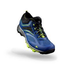 Schoenen voor fast hiking, voor heren, FH500 Helium fluoblauw