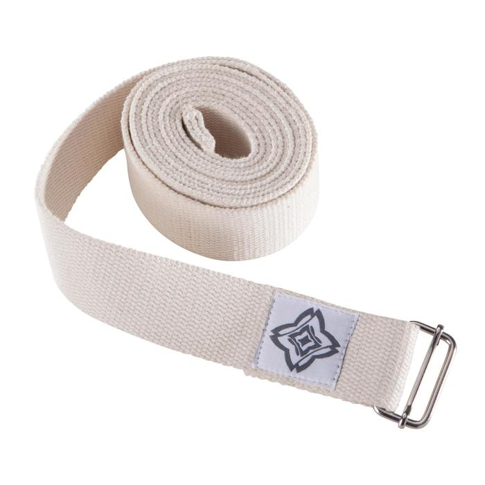 Organic Cotton Yoga Strap - Beige