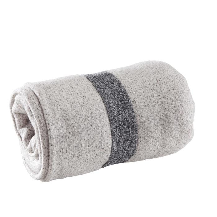 Yogadeken dubbelzijdig grijs