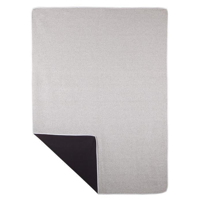 Couverture de Yoga biface grise - 1288209