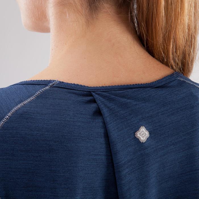 T-Shirt sans manches yoga femme chiné - 1288218