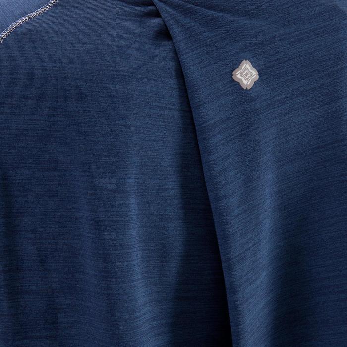T-Shirt sans manches yoga femme chiné - 1288220