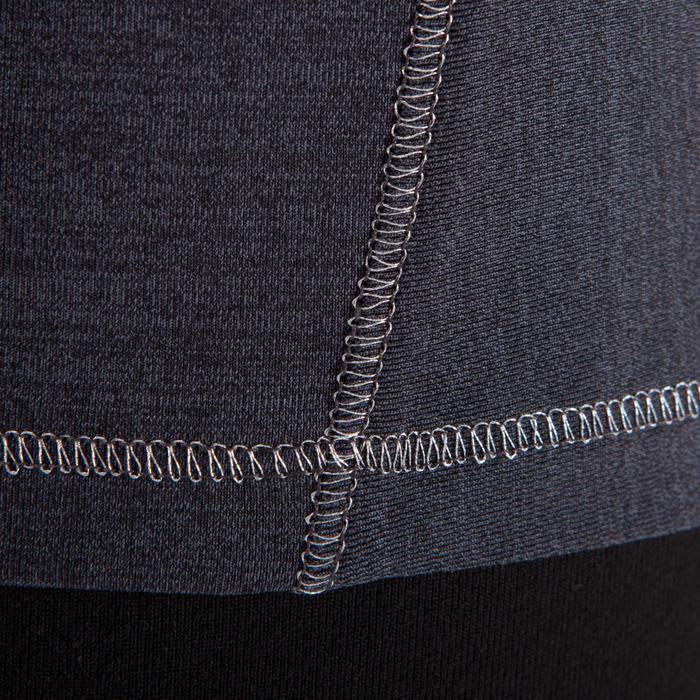 T-Shirt sans manches yoga femme chiné - 1288239