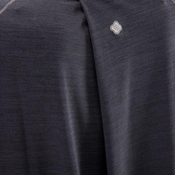 T-Shirt sans manches yoga femme chiné - 1288244