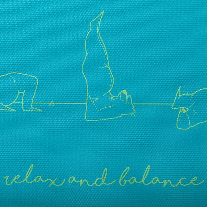Tapis yoga enfant 5 mm ours bleu - 1288264