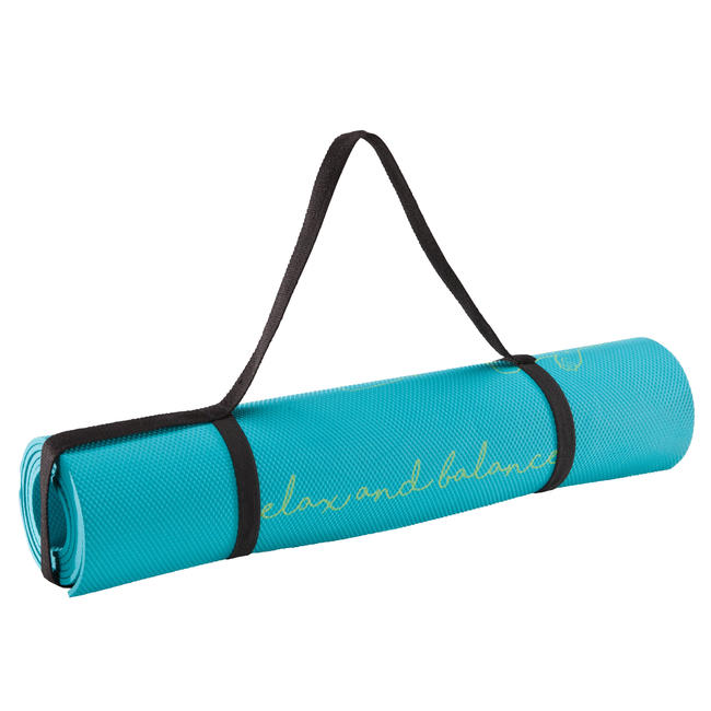 Kids' Yoga Matt 5mm - Blue Bear Print