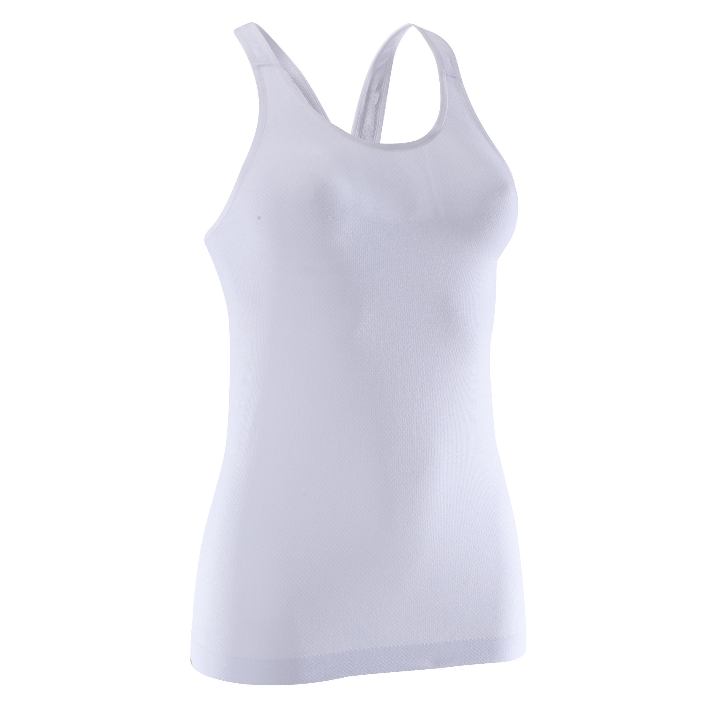 Yoga+ Women's Seamless Tank Top - White
