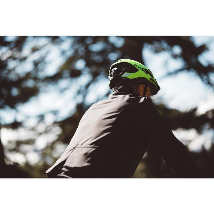 Fahrrad Winterjacke Rennrad RC 100 Herren schwarz