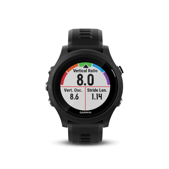 Gps-horloge met hartslagmeting aan de pols Forerunner 935 XT zwart - 1288482