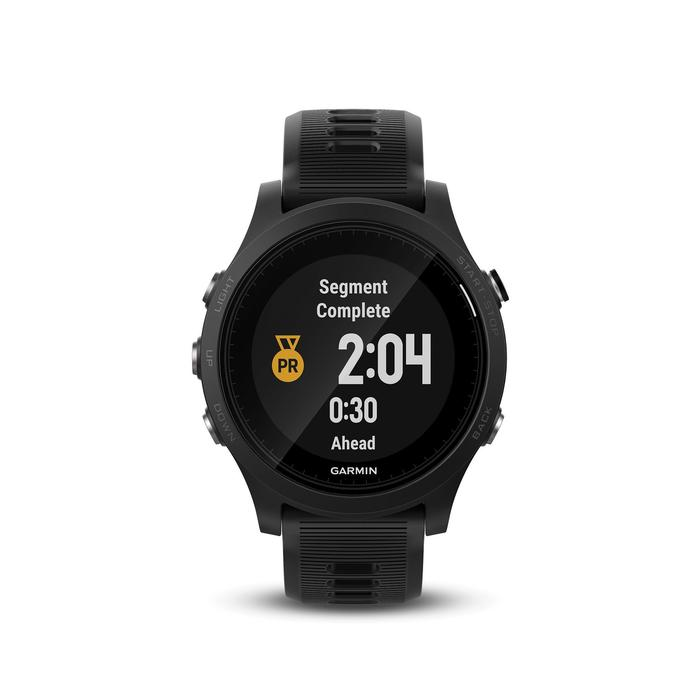 Gps-horloge met hartslagmeting aan de pols Forerunner 935 XT zwart