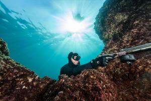 comment choisir son masque de chasse sous-marine subea decathlon