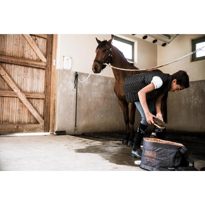 Gilet sans manche équitation fille GL100 - 1288560
