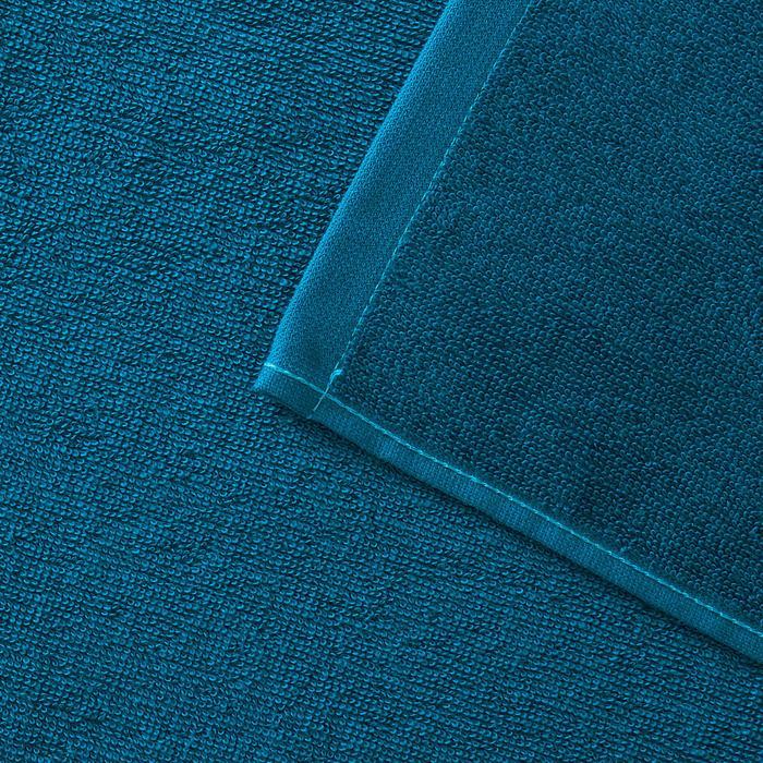 Serviette BASIC L Bleu Celtic 145x 85 cm