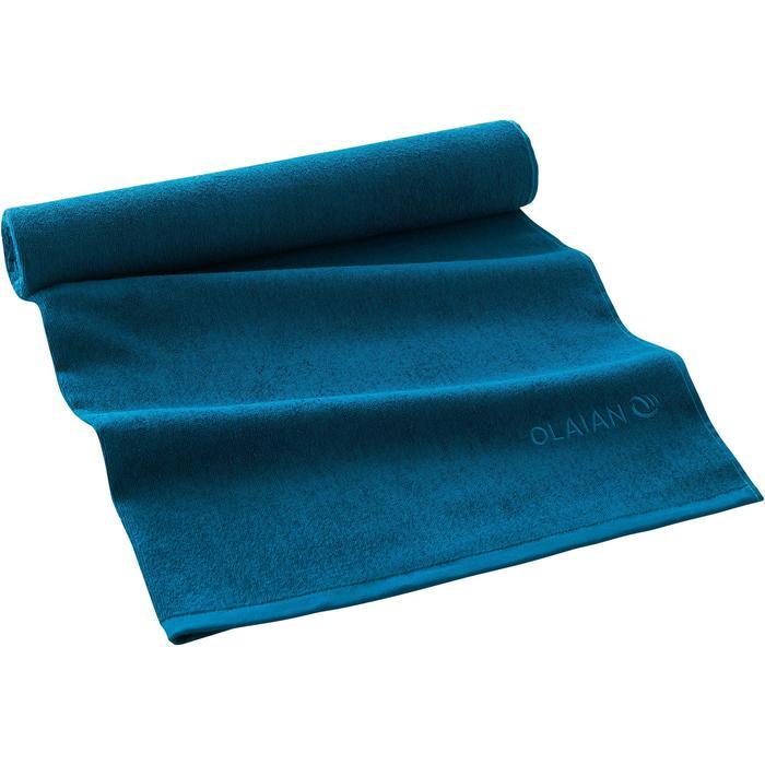 SERVIETTE BASIC L Bleu Celtic 145x 85 cm - 1288565