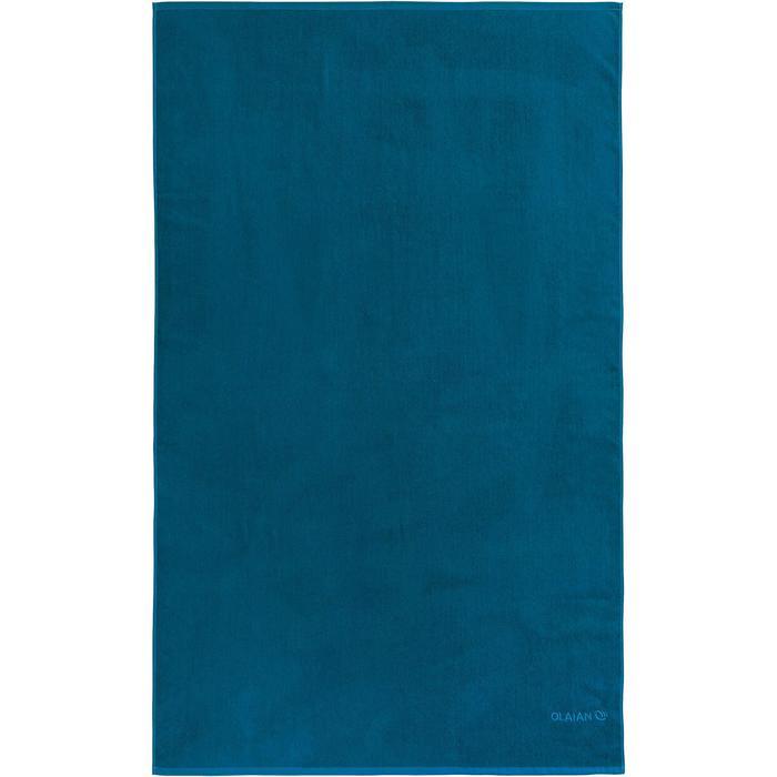 SERVIETTE BASIC L Bleu Celtic 145x 85 cm - 1288566
