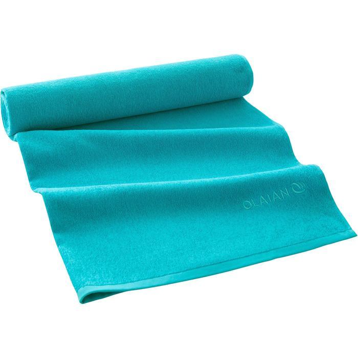 SERVIETTE BASIC L Bleu Celtic 145x 85 cm - 1288567