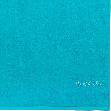 Basic L Towel 145 x 85 cm - Martinica Blue