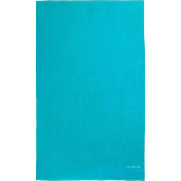 SERVIETTE BASIC L Bleu Celtic 145x 85 cm - 1288569