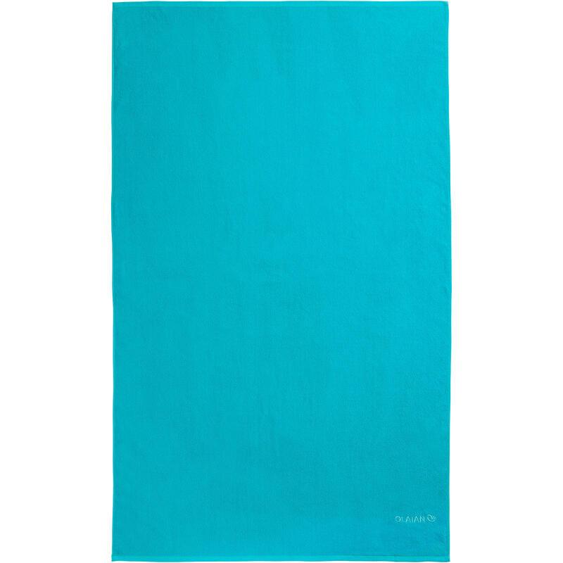 Badhanddoek groot Martinicablauw 145 x 85 cm L
