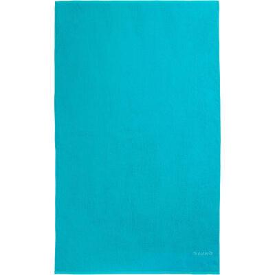 Toalla Algodón playa surf Olaian Basic L Azul Martinica 145 x 85 cm