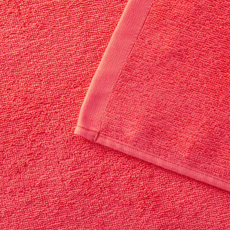 Serviette BASIC L Corail 145x85 cm