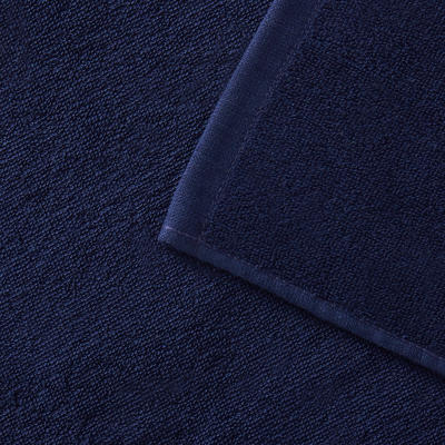 מגבת בייסיק L 145 X 85 ס_QUOTE_מ - כחול כהה