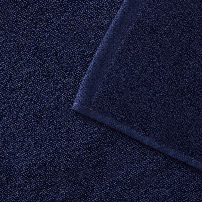 Strandhandtuch Basic L 145×85cm dunkelblau
