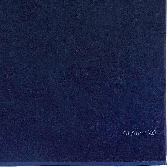 SERVIETTE BASIC L Bleu Celtic 145x 85 cm - 1288577