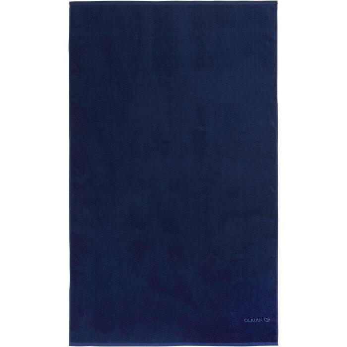 SERVIETTE BASIC L Bleu Celtic 145x 85 cm - 1288578