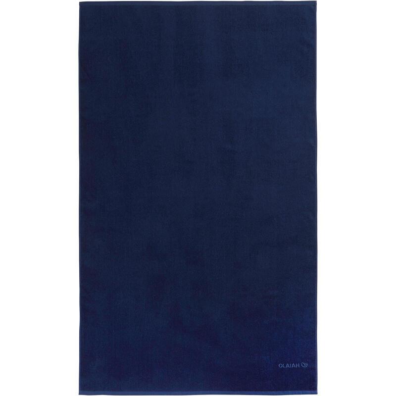 Badhanddoek groot donkerblauw 145 x 85 cm L
