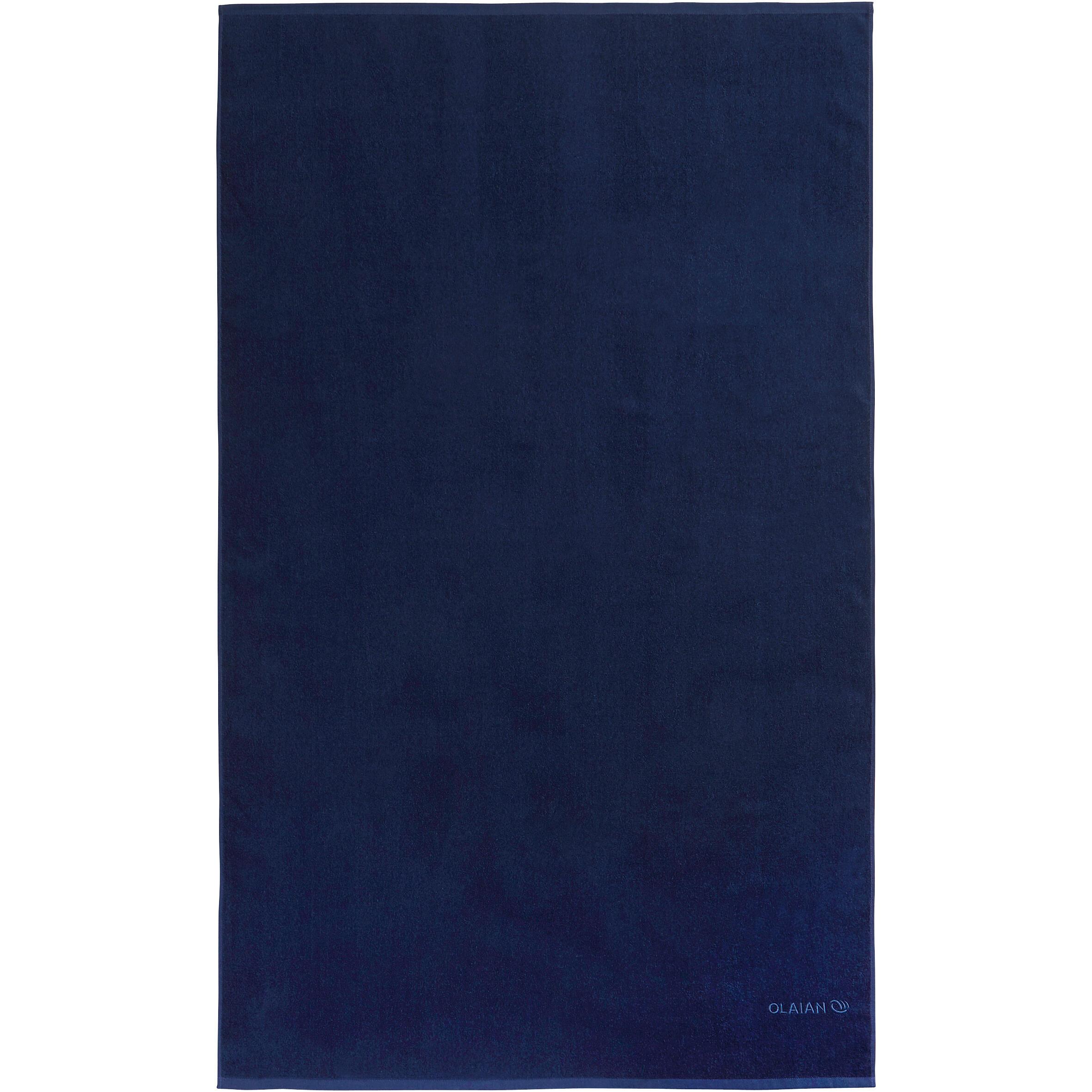 TOALLA Basic G Azul oscuro 145 x 85 cm