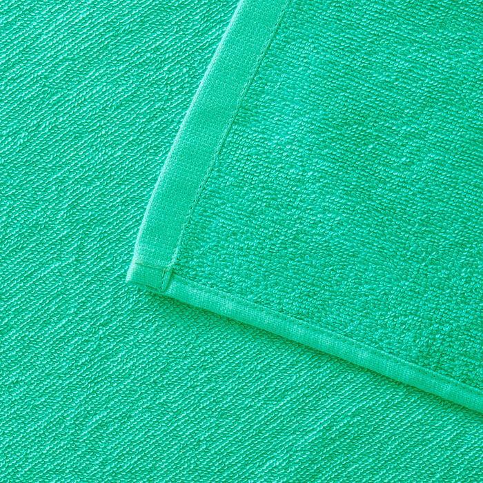 Handdoek Basic L groen 145 x 85 cm - 1288581