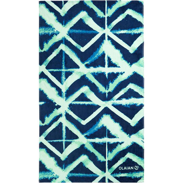 Basic L Towel 145 x 85 cm Print - Abyss