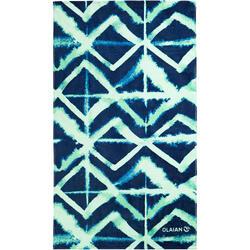 Handdoek Basic L print Abyss 145 x 85 cm