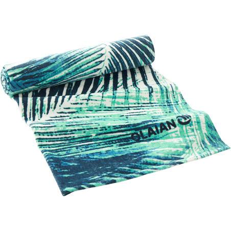 Toalla Playa Surf Olaian  Basic L Bondi Print 145 x 85 cm algodón
