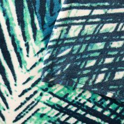 毛巾BASIC L號145 x 85 cm-植物印花款