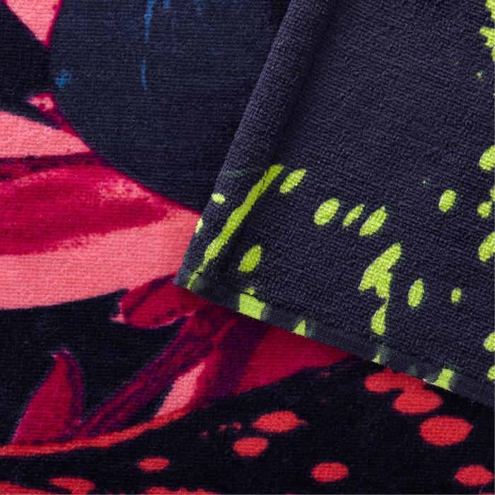 Handdoek Basic L print Morea 145 x 85 cm