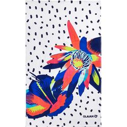Handdoek Basic L print Surf 145 x 85 cm