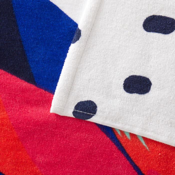Handdoek Basic L print Street 145 x 85 cm