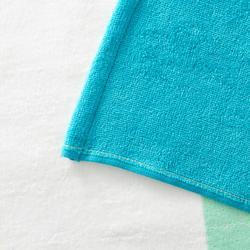 SERVIETTE BASIC L Print Wave Vert 145x85 cm