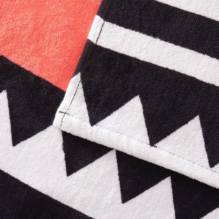Handdoek Basic L print Zao 145x85 cm