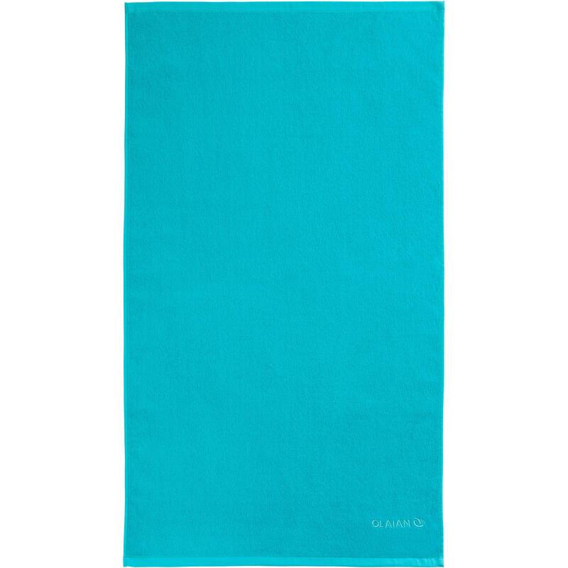 Telo mare S 90x50 cm azzurro