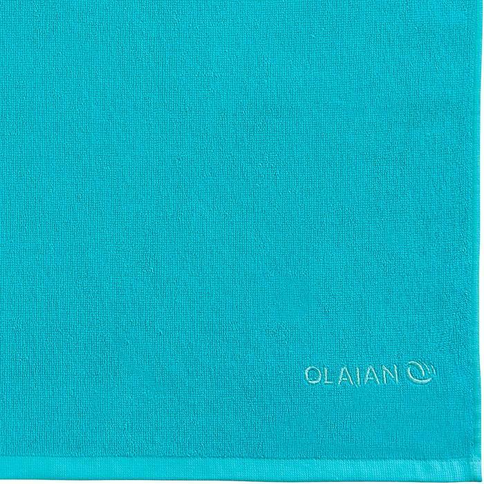 毛巾 BASIC S號 90 x 50 cm-藍綠色