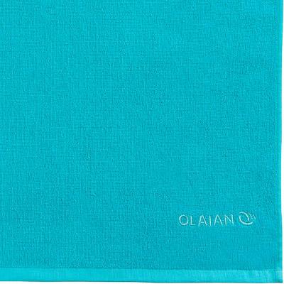 Toalla Algodón Playa Surf Olaian Basic S Azul Oscuro 90 x 50 cm